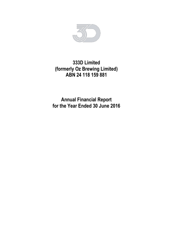 333D   annual report