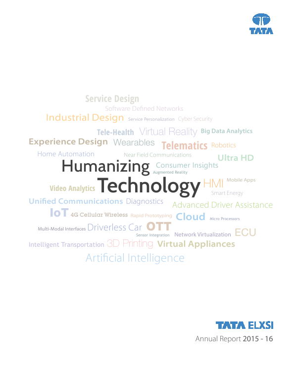 Tata Elxsi   annual report