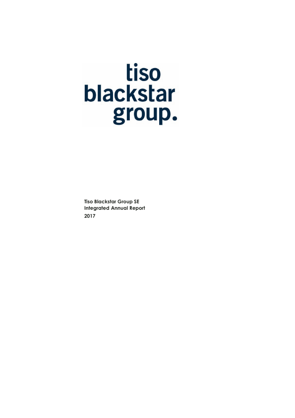 Tiso Blackstar Group   annual report