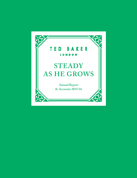 Ted Baker   annual report