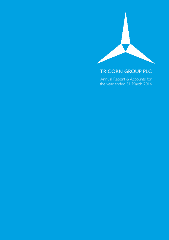 Tricorn Group   annual report