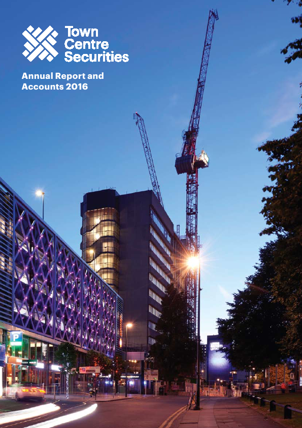 Town Centre Securities   annual report
