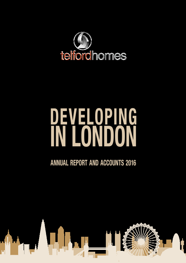 Telford Homes   annual report