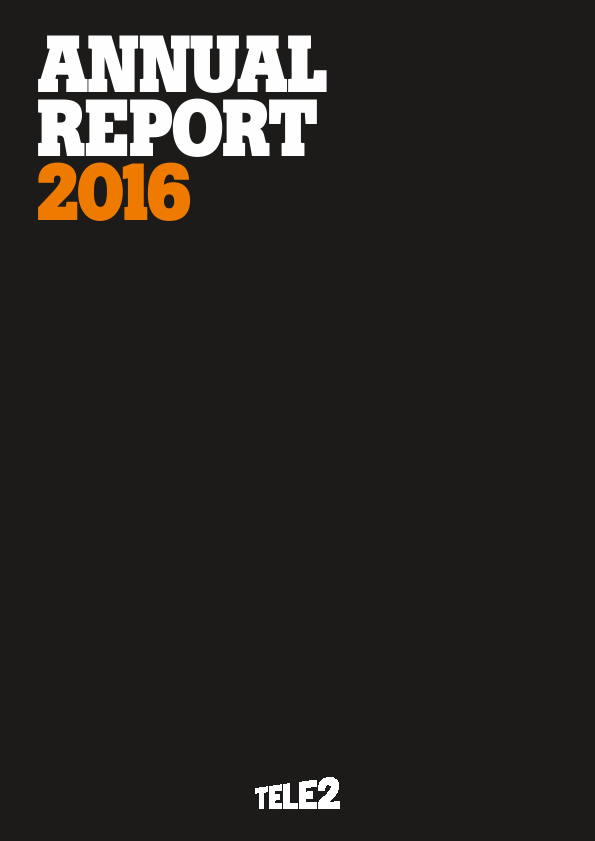 Tele2   annual report