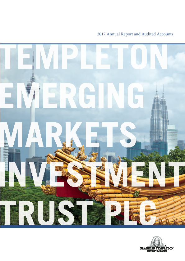 Templeton Emerging Markets Investment Trust   annual report
