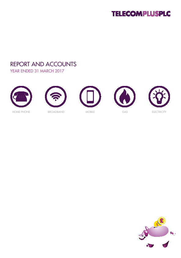 Telecom Plus   annual report