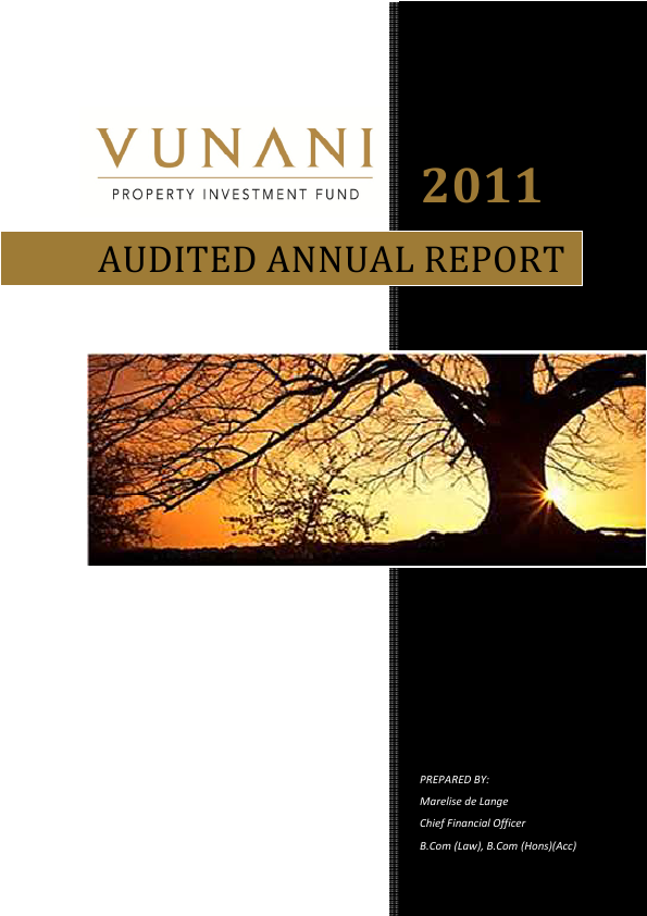 Texton Property Fund   annual report