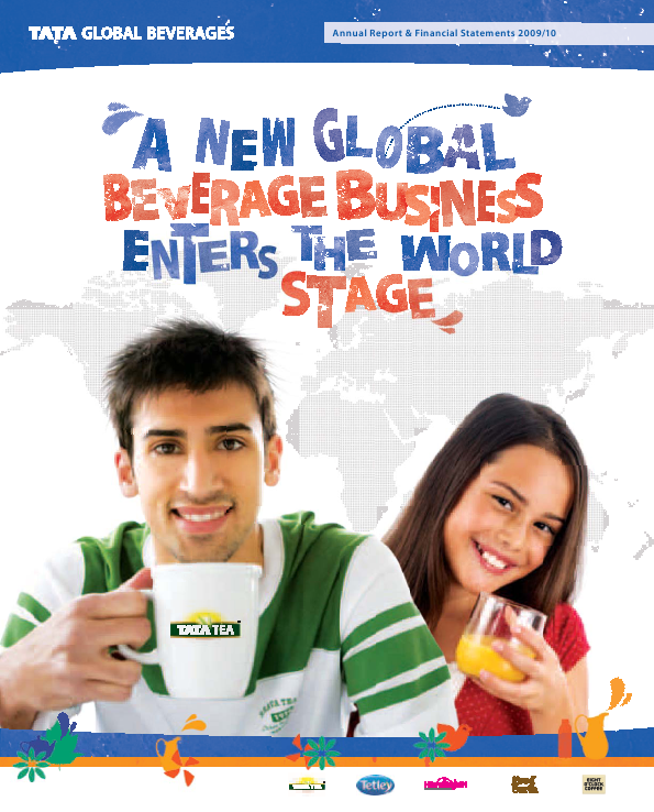 Tata Global Beverages   annual report