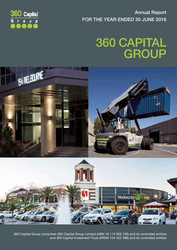 360 Capital Group   annual report