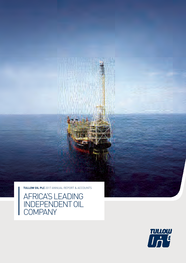 Tullow Oil Plc   annual report