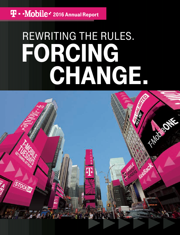T-Mobile US, Inc.   annual report