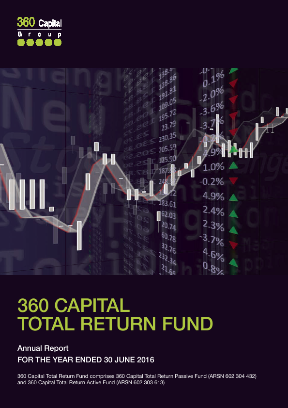 360 Capital Total Return Fund   annual report