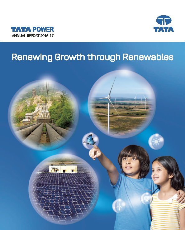 Tata Power Co   annual report