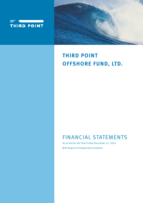 Third Point Offshore Investors   annual report