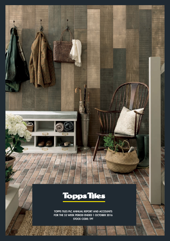 Topps Tiles Plc   annual report