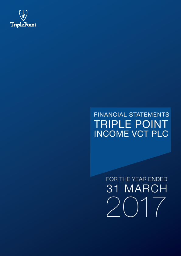 Triple Point Income VCT Plc   annual report