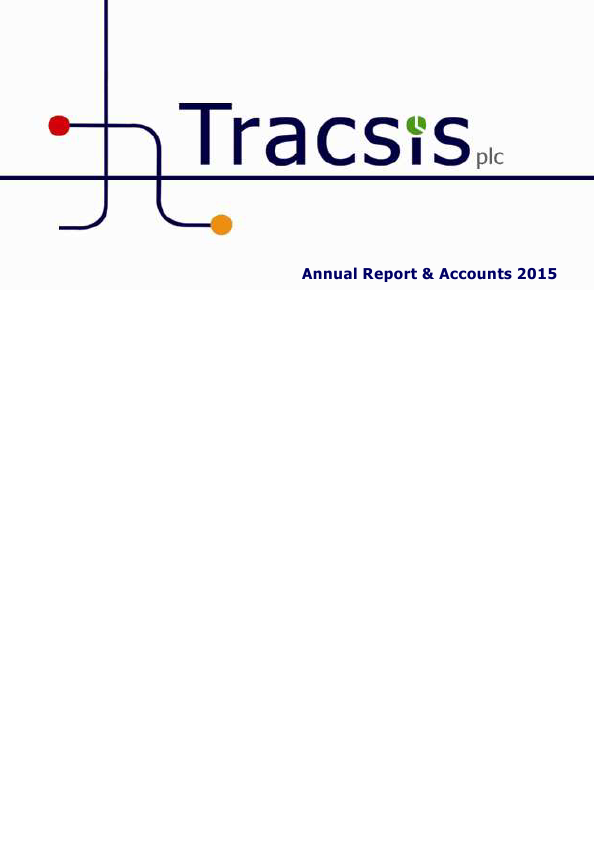 Tracsis Plc   annual report