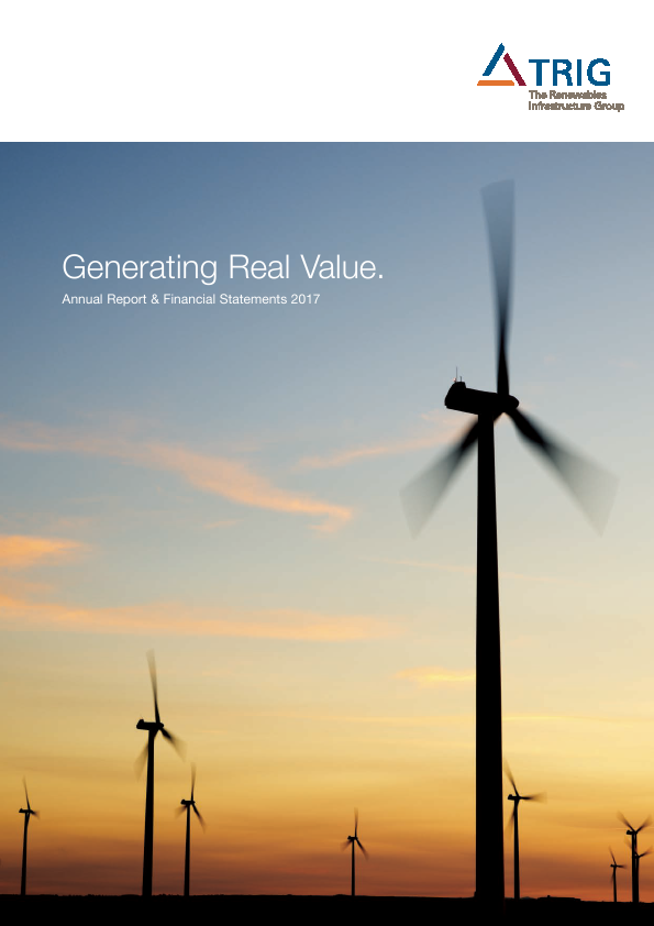 Renewables Infrastructure Group   annual report