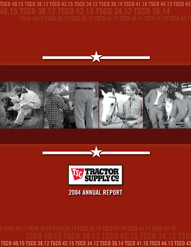 Tractor Supply Company   annual report