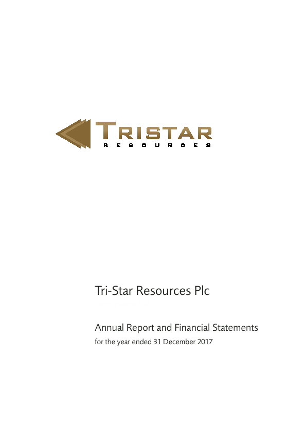 Tri-star Resources Plc   annual report