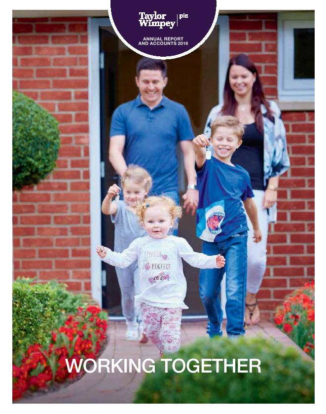 Taylor Wimpey Plc   annual report