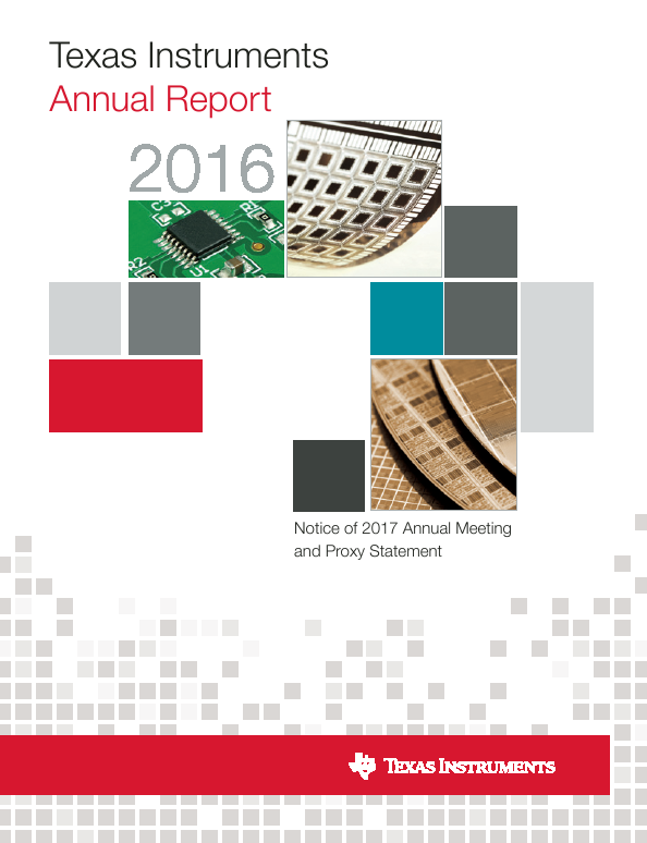 Texas Instruments Inc.   annual report