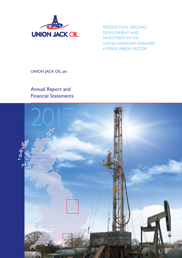 Union Jack Oil Plc   annual report