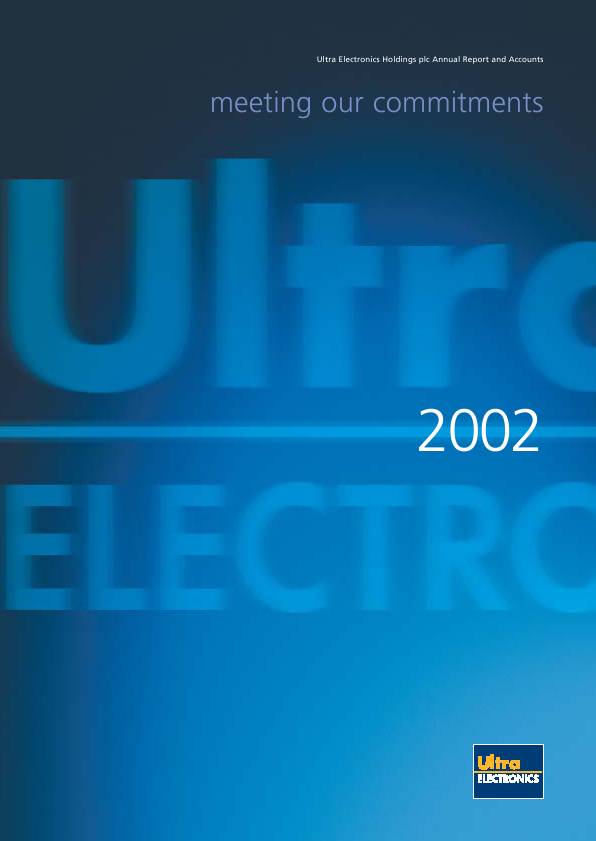 Ultra Electronics Holdings   annual report