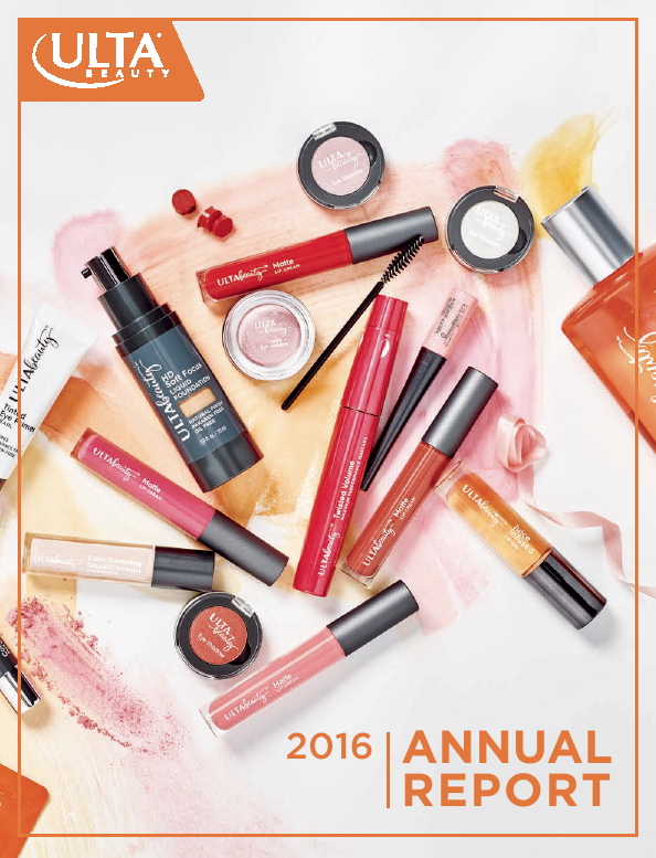 ULTA Salon, Cosmetics & Fragrance, Inc.   annual report