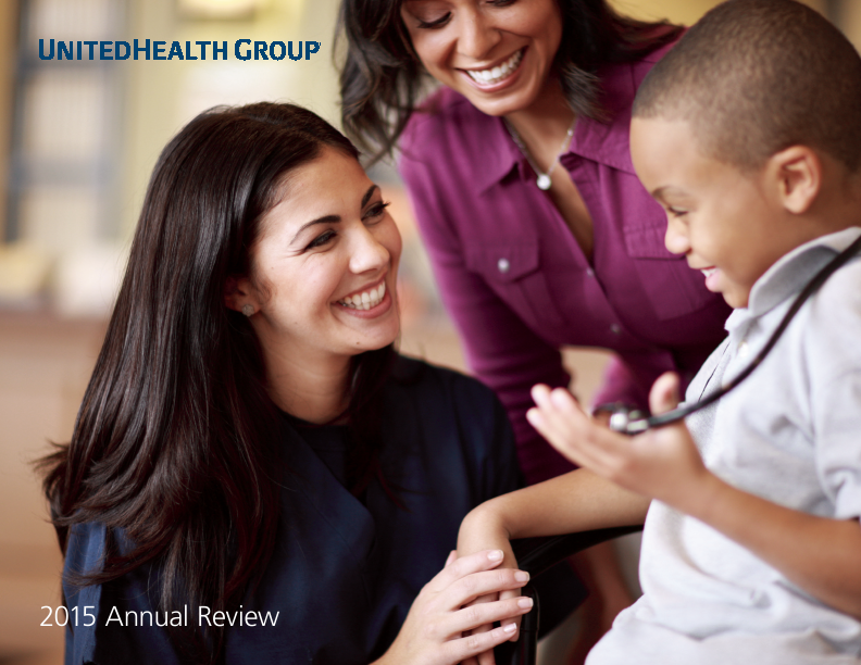 UnitedHealth Group   annual report