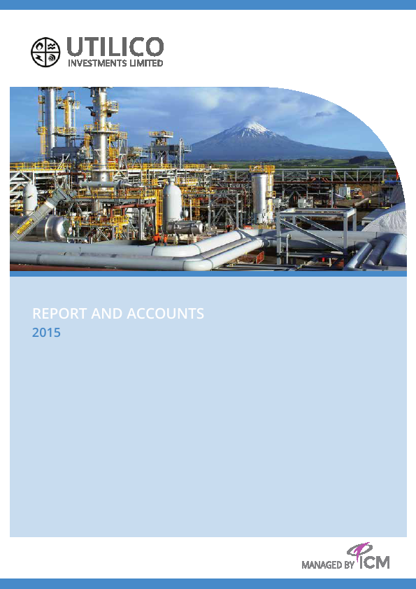 UIL Limited (previously Utilico Investments )   annual report