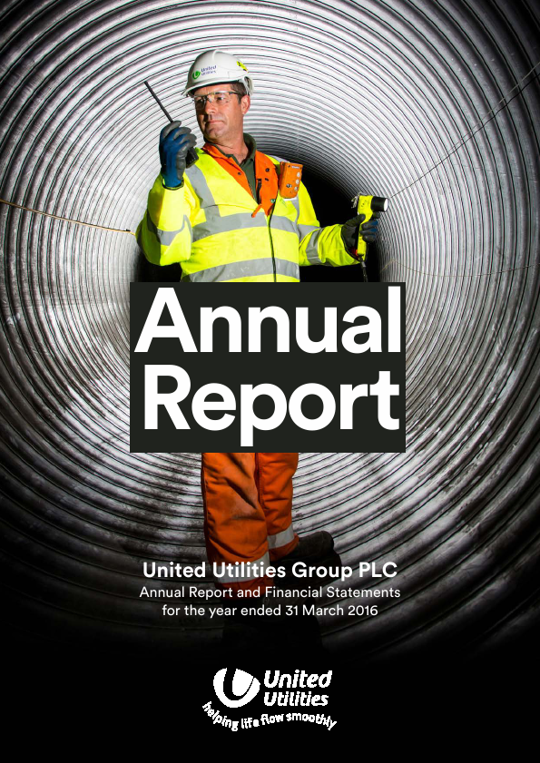 United Utilities Group Plc   annual report