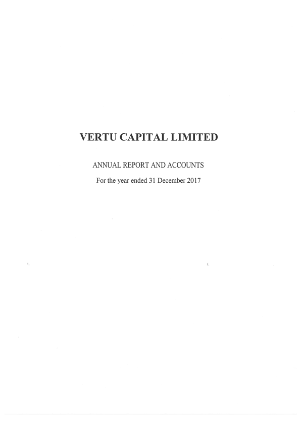 Vertu Capital   annual report