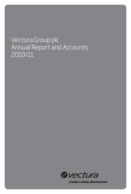 Vectura Group   annual report