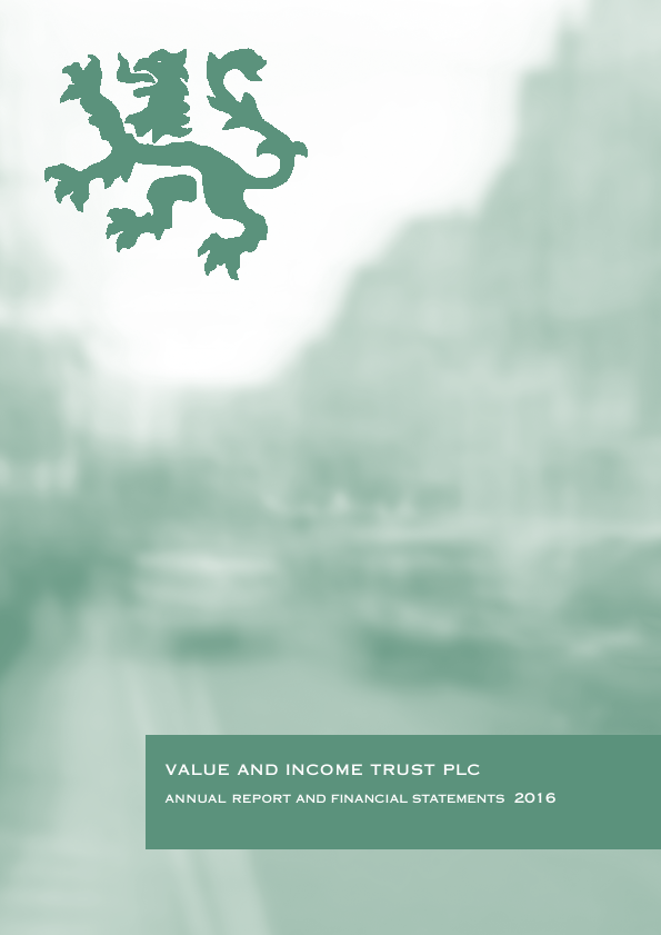 Value & Income Trust   annual report
