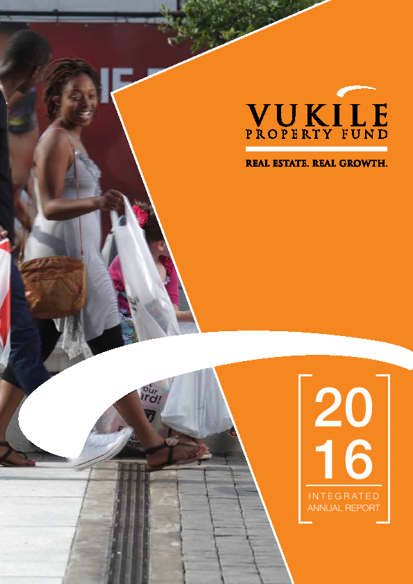 Vukile Property Fund   annual report