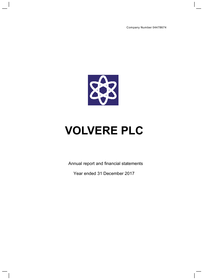 Volvere   annual report