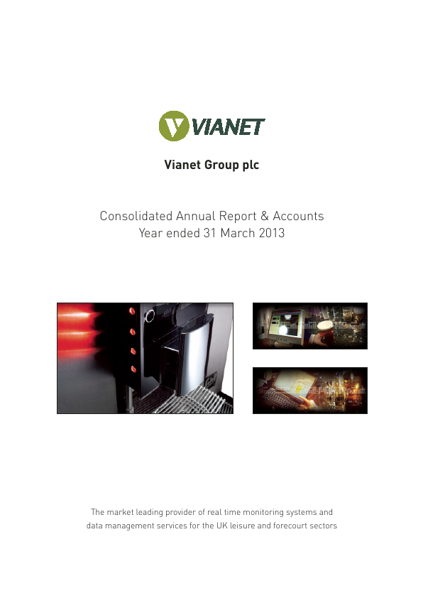 Vianet Group Plc   annual report