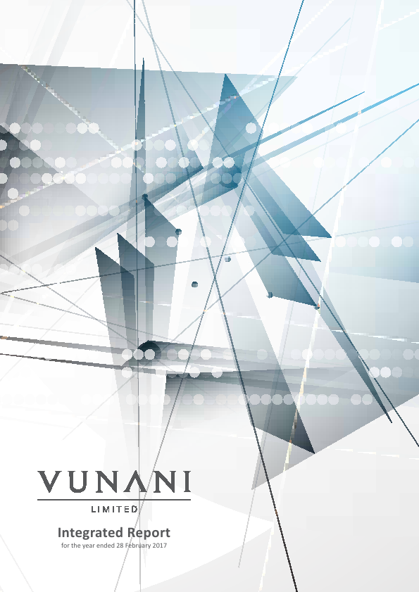 Vunani   annual report