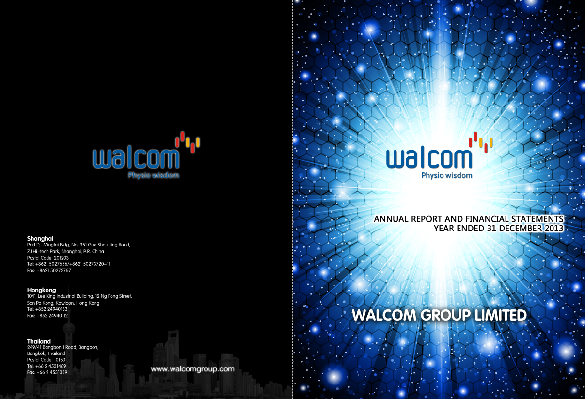 Walcom Group   annual report