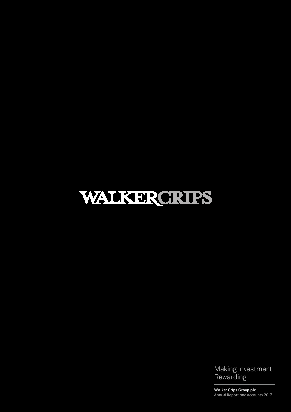 Walker Crips Group Plc   annual report
