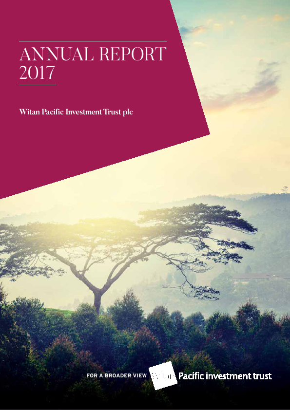 Witan Pacific Investment Trust   annual report