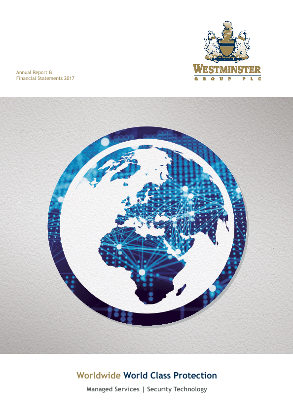 Westminster Group Plc   annual report