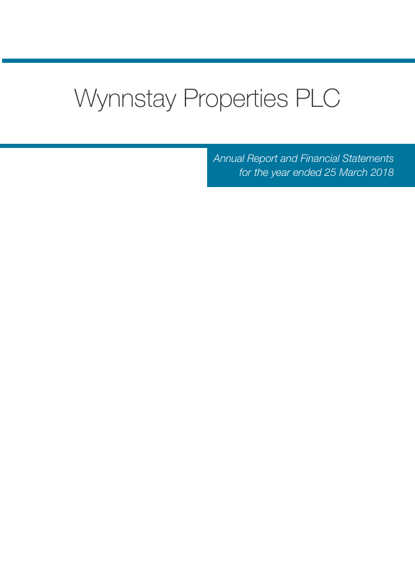 Wynnstay Properties   annual report
