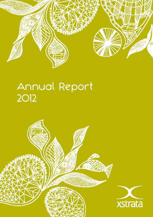Xstrata   annual report