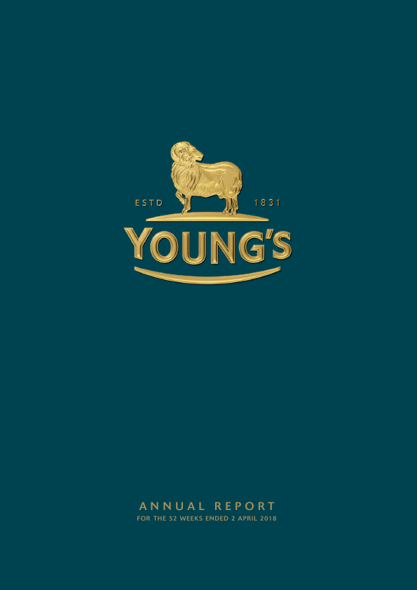 Young & Co's Brewery   annual report