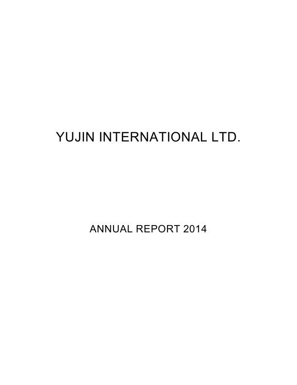 Yujin Intl   annual report