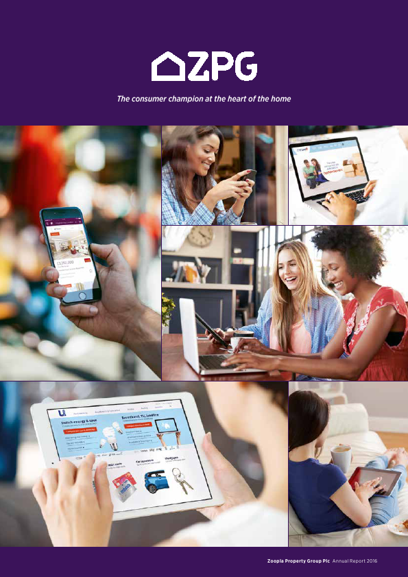 ZPG Group (Previously Zoopla Property Group)   annual report