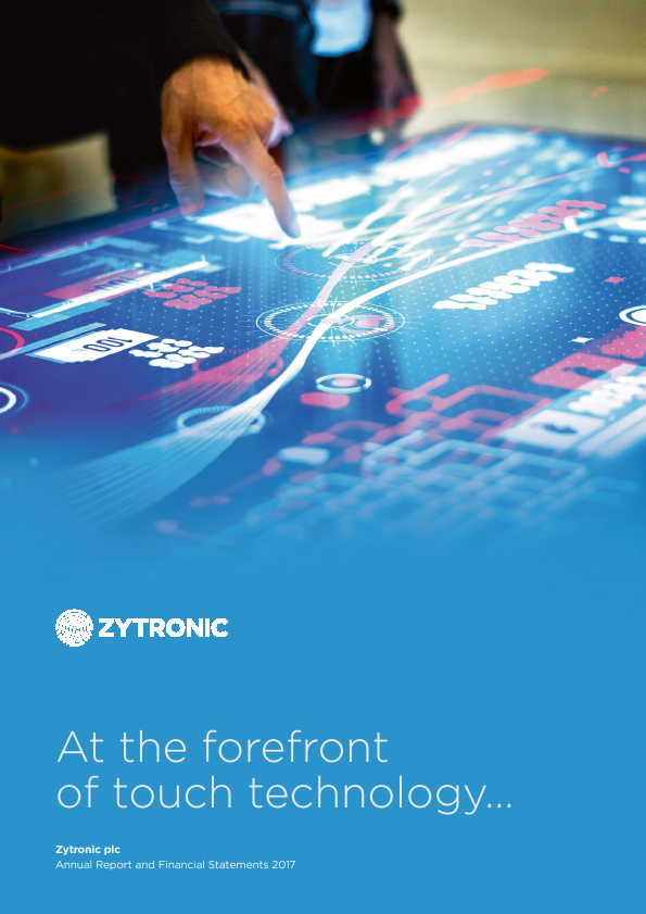 Zytronic   annual report