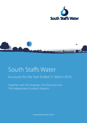 Cambridge Water annual report 2016